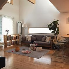 Interior Decorating, Interior Design, Kitchen Design, House Design, Couch, Living Room, Furniture, Home Decor, Decoration