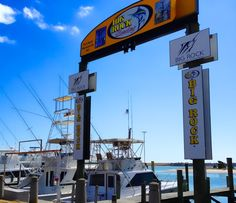The Big Rock Blue Marlin Tournament Weigh-In Station