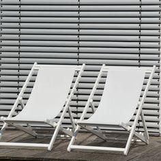 The stylish Rimini Deckchair was created by the in-house design team at leading German outdoor furniture company Jan Kurtz.Jan Kurtz was founded in Affalterbach Outdoor Armchair, Outdoor Chairs, Outdoor Decor, Jan Kurtz, Outdoor Garden Furniture, Seat Cushions, Sun Lounger, Outdoor Gardens, Home Decor