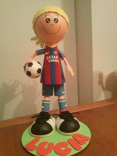 niña FC.Barcelona