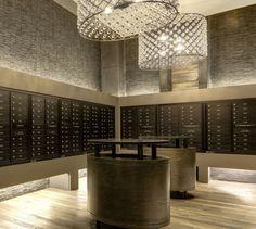 mail room in condo building - Google Search