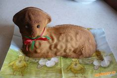 Easter Lamb, Czech Recipes, Pavlova, Gelato, Dinosaur Stuffed Animal, Good Food, Cooking Recipes, Teddy Bear, Sweets
