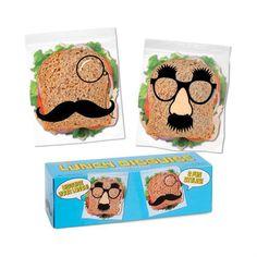 Originelle Sandwichbeutel #Lunchbags #Lunch #Sandwich