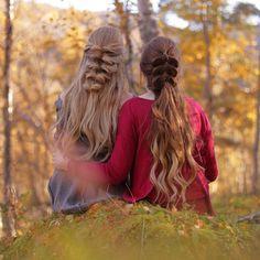 "Gefällt 7,426 Mal, 33 Kommentare - Mia & Linda (@aurorabraids) auf Instagram: ""New post up on our blog: aurorabraids.com (link in bio), with pictures from our autumn picnic! As…"""
