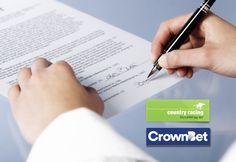 CrownBet становится партнером Country Racing Victoria.  Оператор спортивных ставок онлайн, австралийская компания CrownBet, подписал партнерский договор с государственной компанией Country Racing Victoria, занимающейся организацией конноспортивных состязаний в штате Виктория. Букмекер �