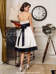 Lanting Bride® A-line / Princess Petite / Plus Sizes Wedding Dress - Classic & Timeless / Chic & Modern / ReceptionWedding Dresses in 2016 - $89.99