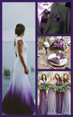 Colored Wedding Dresses (Page The right way to Choose a Marriage ceremony Costume Coloration When the bells are ringing, it would be best to stroll down the isle --in fashion! Colored Wedding Dresses, Dream Wedding Dresses, Wedding Colors, Wedding Gowns, Wedding Dress With Purple, Dip Dye Wedding Dress, Lavender Wedding Dress, Wedding Cakes, Wedding Attire