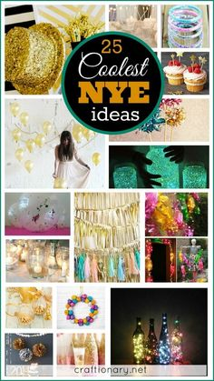 Coolest DIY New Year Eve Ideas