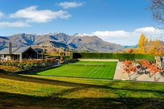 The Lodge at the Hills is a beautiful villa for rent in Arrowtown, New Zealand. New Zealand Country, South Island, Mountain View, Villa, Vacation, Mountains, Luxury, Modern, Travel