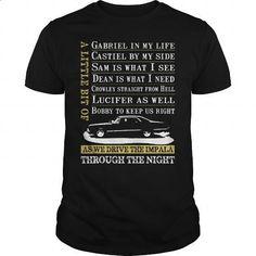 Driver the Impala - Supernatural - #black hoodie womens #crew neck sweatshirt. ORDER HERE => https://www.sunfrog.com/Automotive/Driver-the-Impala--Supernatural-Black-Guys.html?60505