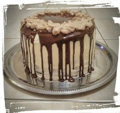 Layer Cake Snickers - Pâtisser Malin