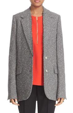 STELLA MCCARTNEY Tweed Jacket. #stellamccartney #cloth #