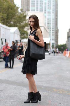London - Off-Duty Model Street Style from NY, London, Milan, and Paris - StyleBistro
