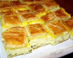 Romanian Desserts, Romanian Food, Romanian Recipes, Cheesecake Recipes, Dessert Recipes, Good Food, Yummy Food, Puff Pastry Recipes, Diy Food
