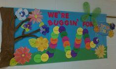 Buggin' For Spring Bulletin Board Idea