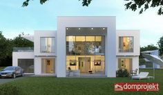 1 Kanal Modern Contemporary Design 3D Front Elevation Sukh Chayn Gardens Laho...