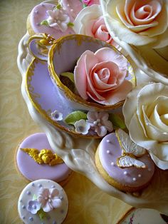 (198) Beautiful for a bridal tea or afternoon wedding. | Tea Party Food | Pinterest