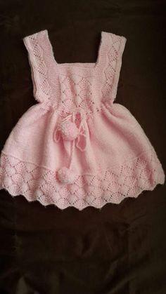 Baby Knitting Patterns, Knitting Designs, Baby Patterns, Crochet Patterns, Crochet Hooks, Crochet Baby, Baby Dress, Yarns, Clothes