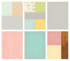Daily Flash Girl Talk Collection | By October Afternoon | 6x8 Paper Pack (B)