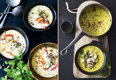 Suppe behøver ikke være en kedelig fornøjelse. Vi har samlet 14 lækre supper med masser af smag, der vil varme dig på de kolde vinteraftener.