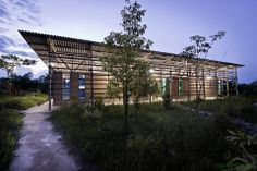 a.gor.a ARCHITECTS designed the 'New Training Center Campus for Mae Tao Clinic' in Tak, Thailand. http://en.51arch.com/2014/04/a1515-new-training-center-campus-for-mae-tao-clinic/