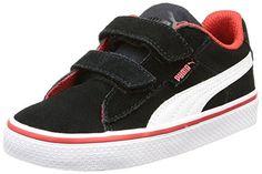 Puma Puma 1948 Vulc V Inf, Unisex-Kinder Sneakers, Schwarz (black-white 03), 27 EU (9 Kinder UK) - http://on-line-kaufen.de/puma/27-eu-puma-puma-1948-vulc-v-inf-unisex-kinder-3