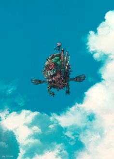lospaziobianco:    Howl's Moving Castle (gif)