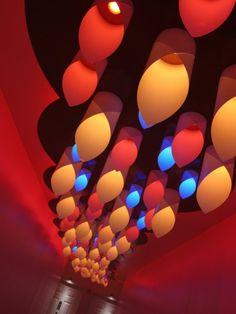 Light Art Installation | Cloud – Interactive Light Art Installation for Boffo Show House ...