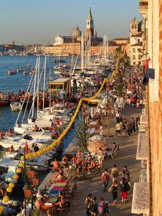The festival of the Redeemer in Venice