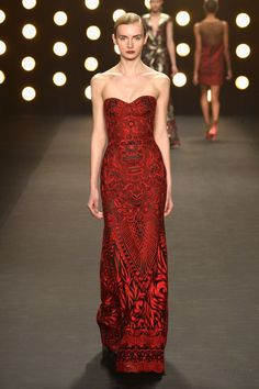 Naeem Khan - Runway - Mercedes-Benz Fashion Week Fall 2014