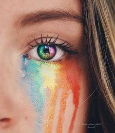 34 Ideas For Eye Photography Rainbow Eye Photography, Creative Photography, Rainbow Photography, Photography Business, Photography Magazine, Photography Aesthetic, Photography Lighting, Photography Equipment, Outdoor Photography