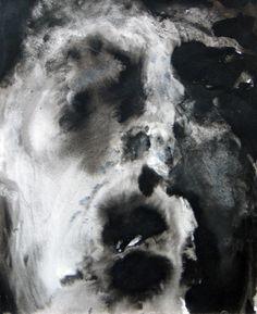 Worst nightmare, tekening Mieke Siemons (oi inkt en water op papier) #collectievissen #lelijk