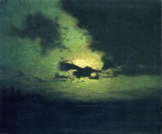 The Hidden Moon:Lowell Birge Harrison ( 1854-1929)