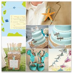Destination Beachy wedding by Sheila Sunaryo, see more modern @Minted wedding invitations