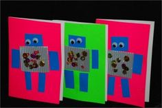 Robot cards.