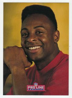 Jerry Rice # 54 - 1992 Pro Line Profiles Football
