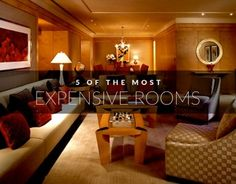 5 of the World's Most Expensive Rooms    The Planet D: Adventure Travel Blog >> http://theplanetd.com/5-of-the-world%E2%80%99s-most-expensive-rooms/