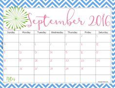 2016 FREE Printable Calendar - Keeping Life Sane