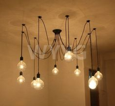10-Lights-Contemporary-Edison-Industrial-Chandelier-Ceiling-Roof-Pendant-Lamp