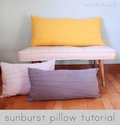 10 Adorable DIY Pillow Tutorials | Apartment Therapy