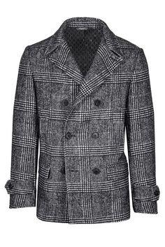 71 Idées De My Peacoat Mode Homme, Black Cotton Pea Coat