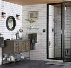 The bath can be the best room in the house to design.  You don't have to worry about the context of other rooms, and in master baths, you don't even have to worry about the opinions of other people (except...