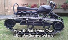 How To Build Your Own Ultimate Survival Vehicle. I don't know about survival, it just looks interesting. Survival Gadgets, Camping Survival, Survival Prepping, Emergency Preparedness, Survival Skills, Homestead Survival, Outdoor Survival, Outdoor Camping, Survival Knife