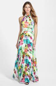 Image result for 70's halterneck long dresses