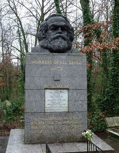 TIL you have to pay an entrance fee to visit the tomb of Karl Marx in Highgate Cemetery in London.