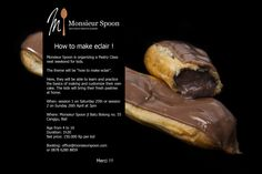 Wanna know how to make #Delicious and #fine #eclair ? Just join us and #learn the #secret from #french #chef #pastries at #misterspoon #bali #guide #balithisweek #cooking #class #recipe