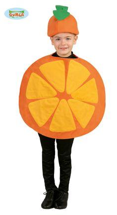 Comprar Disfraz infantil Naranja Unisex.
