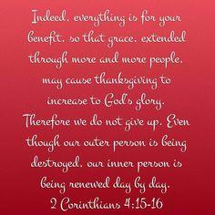 2 cor 4:15-16