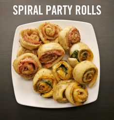 Get the party started with these appetizing sandwich rolls! Each cheesy bite is wrapped up in warm doughy goodness and topped with a zesty glaze. Easy to make and fun to pass around, this crowd-pleasing platter comes in both meat and veggie versions to delight all your friends and guests. Click for the full crescent roll hack recipe for these Spiral Party Rolls.