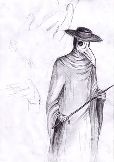 plague doctor drawing - Google Search